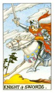 אביר החרבות - שנתי
